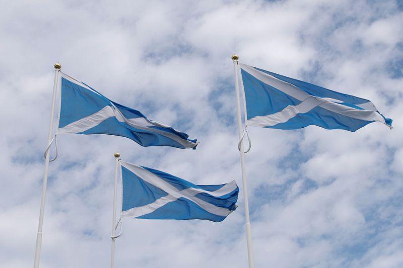 דגל סקוטלנד - העשור