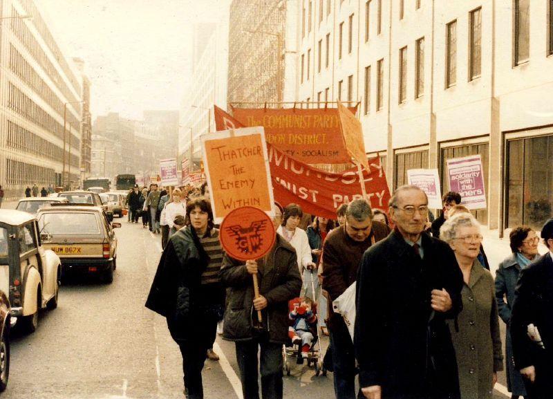 שביתת הכורים 1984-5 - מרגרט ת'אצ'ר
